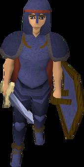 Woman-at-arms