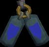 Defender's insignia detail