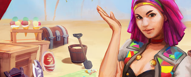 Summer Beach Party update post header