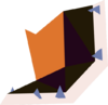 Crest part (Johnathon) detail