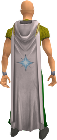 Hooded prayer cape equipped