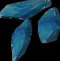 Crystal fragment detail