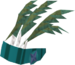Feather headdress (stripy) detail