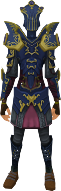 Refined Anima Core of Zaros armour equipped