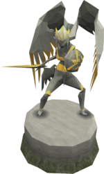 Expert Saradomin statue