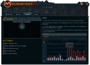 RuneMetrics (Graphs) interface