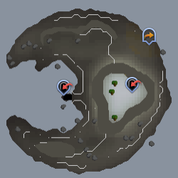 Waterbirth Island map