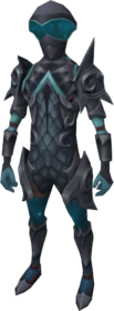 Starfire armour (ranged) equipped