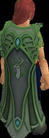 Clan Cadarn cape equipped