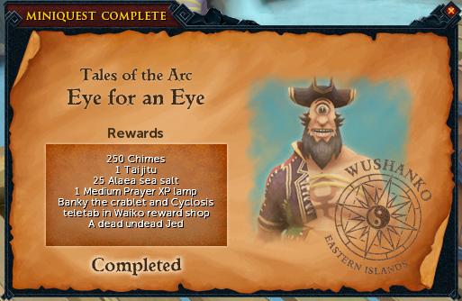 Eye for an Eye reward