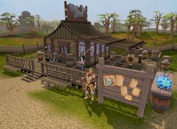 Fishing Guild shop