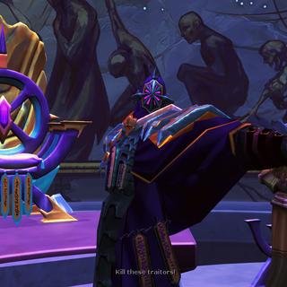 Zaros ordena seus seguidores a retaliarem.
