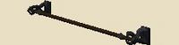 Carved banner frame
