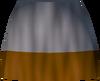 Gold athlete's legs detail