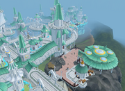 Prifddinas Ithell district