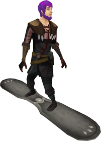 Snowboard (tier 2) equipped