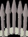 Steel bolts detail