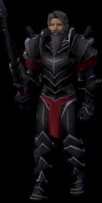 Black knight doorkeeper