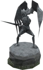 Plain Saradomin statue