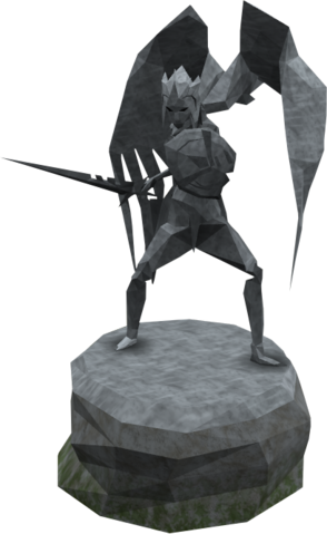 File:Plain Saradomin statue.png
