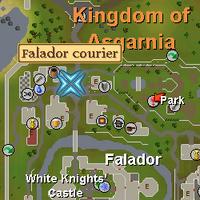 Falador Courier Location