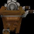 Portable sawmill detail