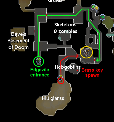 EdgevilleDungeonMine location