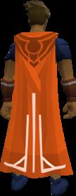 Milestone cape (50) equipped