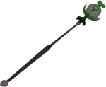 Nature talisman staff detail
