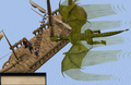 Dragon Slayer Elvarg flies overhead.png