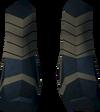 Highland boots (purple, female) detail