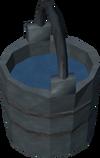 Bucket of acid detail