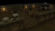 Valluta's den entrance