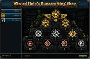 Wizard Finix's Runecrafting Shop (Esteem)