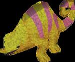 Baby chameleon (colourful 1)
