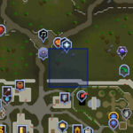 Sinkholes (Falador) location