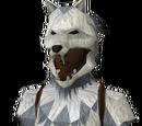 Werewolf torso (white, female)