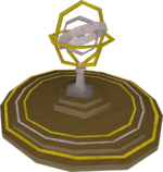 Armillary sphere (detail)