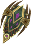 Celestial shield detail