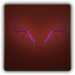 Ethereal wings icon