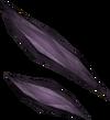 Obsidian shard detail