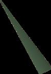 Adamant dart tip detail