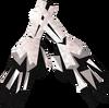 Skeleton gloves detail
