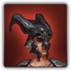 Dragon wolf outfit icon (female)