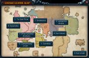 Gnome glider map interface