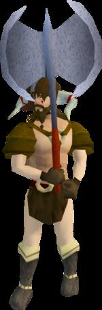 Barbarian guard