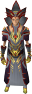 Ambassador of Chaos outfit equipped (female)
