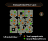 Braindeath Island 'Rum'-geon map