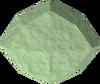 Uncut jade detail