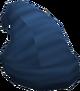 Voting hat (blue) detail